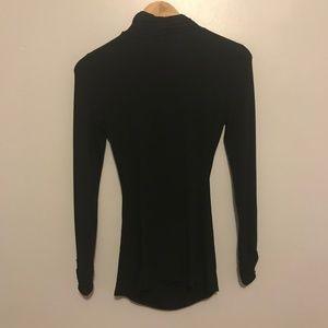 White House Black Market Tops - WHBM Black Turtleneck Long Sleeve Shirt Top
